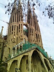 Sagrada Família i Barcelona