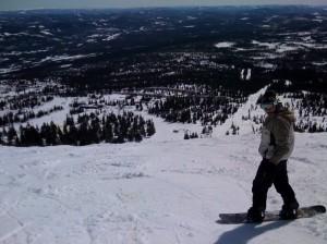 Ned til Skihytta - Trysil påsken 2009