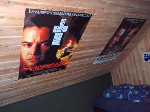 Plakater av filmene Speed og A Bronx Tale